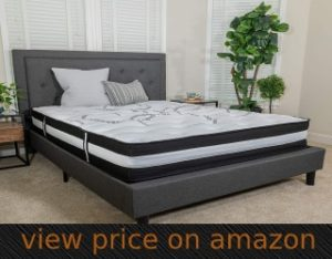 Capri Comfortable Spring Mattress: