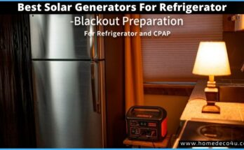 best solar generator for refrigerator