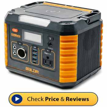Best generator for off grid camping