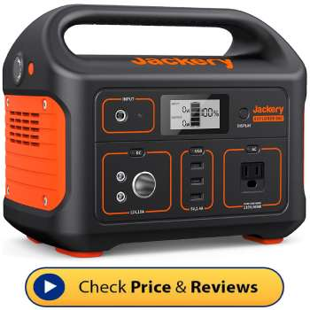 Best Portable Solar Power Generator For Camping