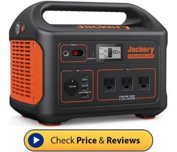 best solar generator for CPAP