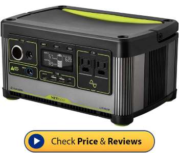 best solar generator for CPAP camping